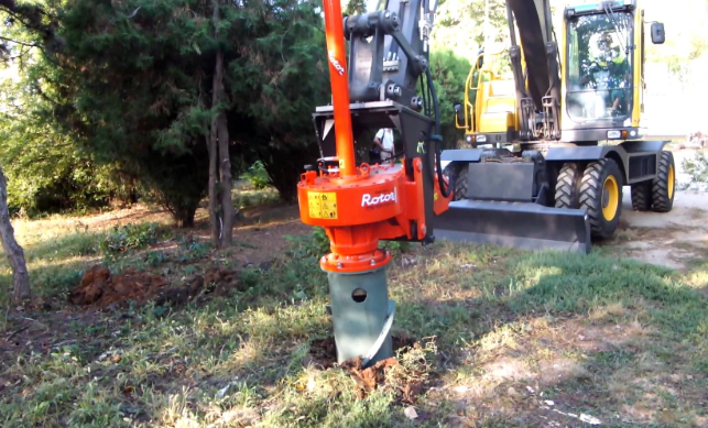 this is an image of stump removal in Carlsbad